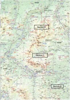 0. 全体図 北部 五国ロングハイク のコピー