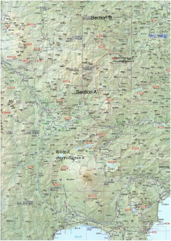 0. 全体図 南部 五国ロングハイク のコピー