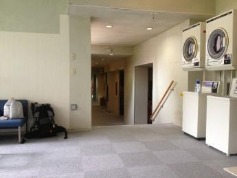 Section C 長野 群馬 県境 湯ノ丸高原ホテルにて乾燥機待ち