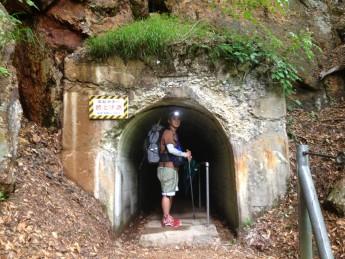 Section D 長野県 魚野川水平歩道 手彫りトンネル
