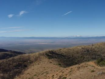 PCT S. California  Hiker town と Tehachapi の間