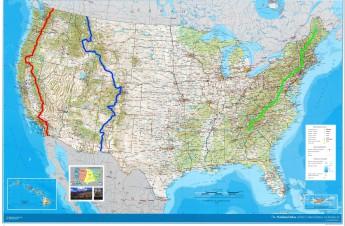 アメリカ 3大 トレイル